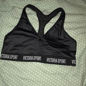 Victoria's Secret clack shine athletic sports bra